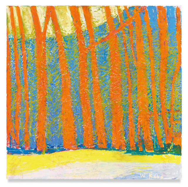 Wolf Kahn, 'Woodland Density', 2019, Miles McEnery Gallery