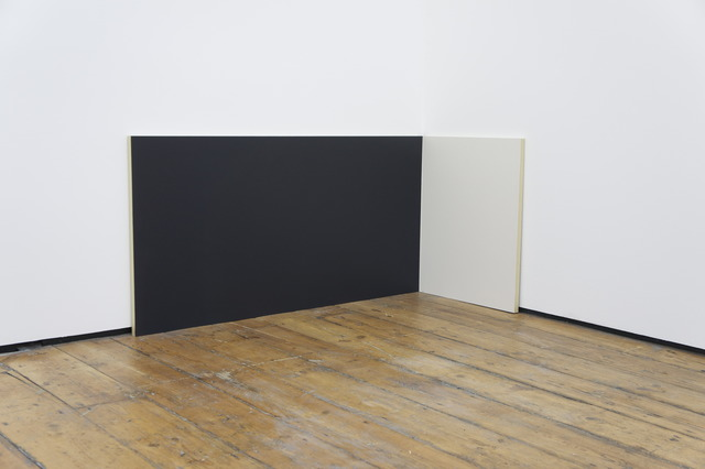 , 'Untitled 1 (dark blue/white),' 2012, Hilary Crisp