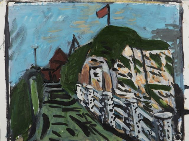 , 'The Cliffs at Veules-les-roses, Normandy, France,' , Childs Gallery