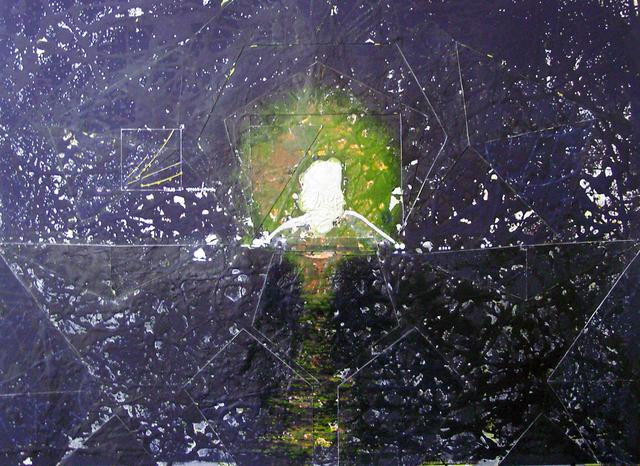 , 'Landscape Redux; No-nVOID/19B: CRUDE RUSH (At the Speed of Life) I ,' 2011, Abe+Okuta