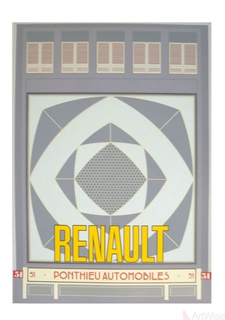 Neil Gower, 'Renault Automobiles', 1986, ArtWise