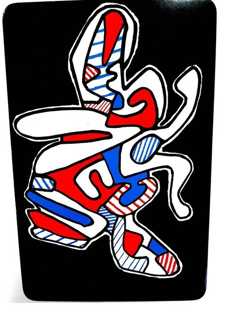 """Jean Dubuffet, 'Card """"The Fly"""" by Jean Dubuffet', 1967, Galerie Philia"""