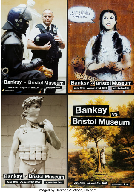 Banksy, 'Banksy vs. Bristol Museum, poster', 2009, Heritage Auctions