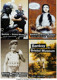 Banksy vs. Bristol Museum, poster