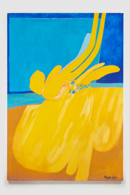 , 'Untitled I (Yellow Blue),' 1977, Susan Eley Fine Art