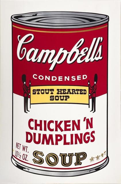 Andy Warhol, 'Campbell's Soup II: Chicken N' Dumplings II.58', 1969, Hamilton-Selway Fine Art