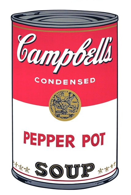 Andy Warhol, 'Campbell's Soup I: Pepper Pot', 1968, Print, Screenprint on Paper, Revolver Gallery