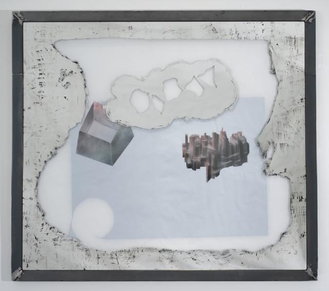 , 'PLATONIC SOLID'S DREAMING/DETROIT'S SHRINKING (Hexahedron),' 2014, Galerie Nathalie Obadia