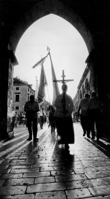 PAVO URBAN, 'Blessing of the Door', 1990, Museum of Modern Art Dubrovnik
