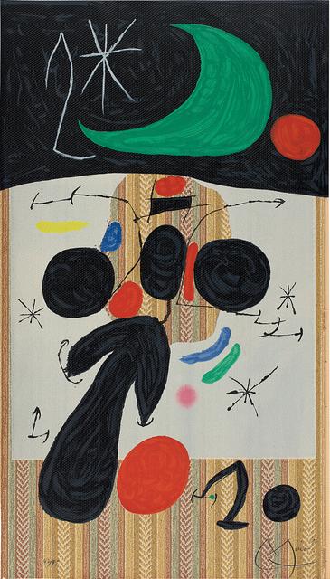Joan Miró, 'Intérieur et nuit (Interior and Night)', 1969, Phillips