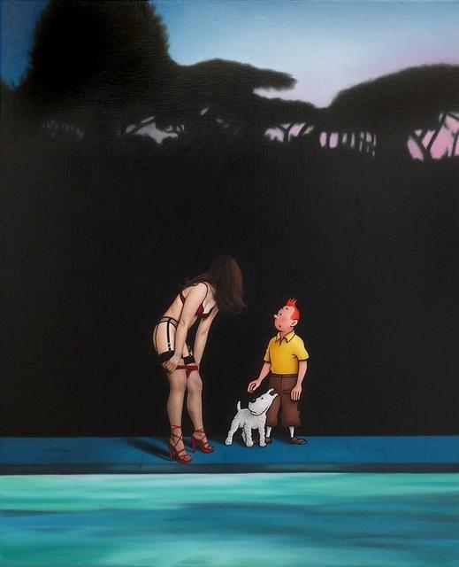, 'The Pool,' 2018, Artwolfsen