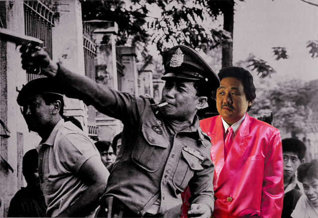 , 'Horror in Pink #2 (6 October 1979 Rightwing Fanatics' Massacre of Democracy Protesters) photograph of the incident by Kraipit Panvuth,' 2001, Tyler Rollins Fine Art