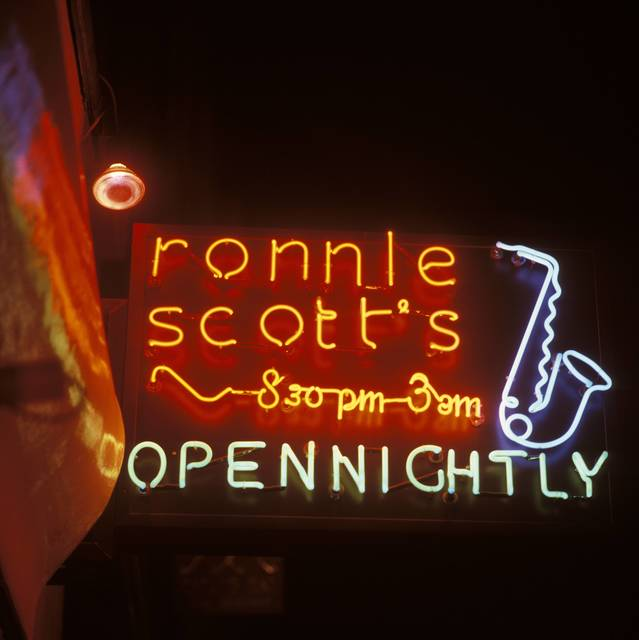 , 'Ronnie Scott's Club,' ca. 1970, Getty Images Gallery