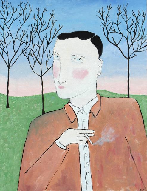 , 'Smoking Gray,' 2016, Projet Pangée