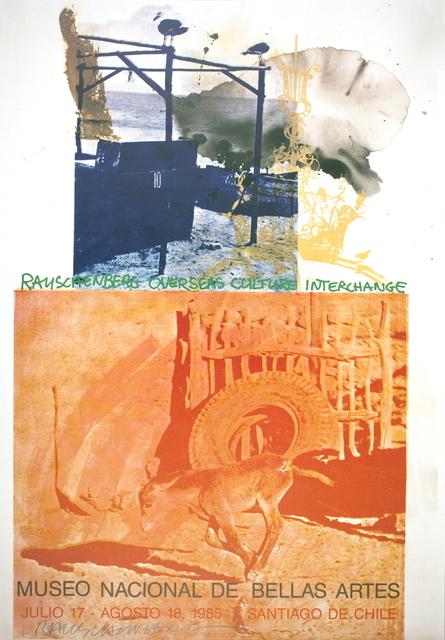 Robert Rauschenberg, 'ROCI: Chile', 1985, ArtWise
