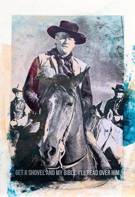 , 'John Wayne,' 2015, Garis & Hahn