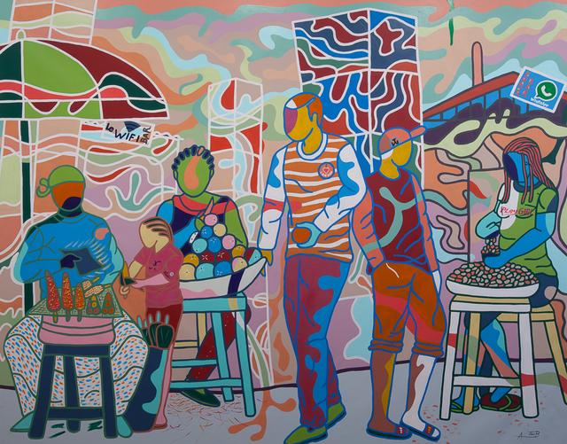 , 'Roadside Market,' 2015, Jack Bell Gallery