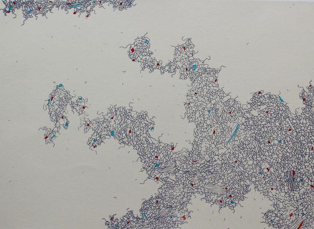 Mongezi Ncaphayi, 'streams of consciousness II', 2015, Clifton Boulder