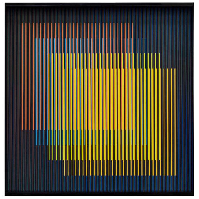 Carlos Cruz-Diez, 'Cromointerferencia Espacial 46 ', 1964-2017, Galería RGR