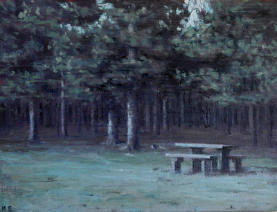, 'Picnic Bench 2,' 2016, Reuben Colley Fine Art