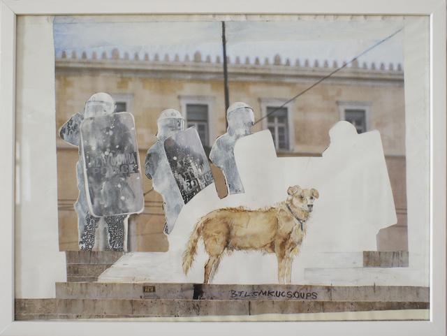 , 'loukanikos, riot dog 4,' 2016, Artdepot