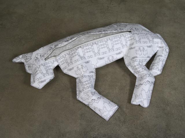 , 'Body Bag for Dogs (Polyvinyl Chloride / PVC),' 2013, bitforms gallery