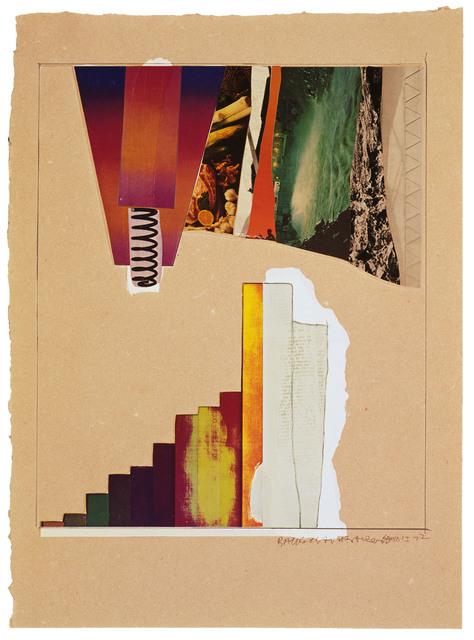 Robert Rauschenberg, 'Horsefeathers Thirteen-VII', 1976, Print, Offset lithograph/screen/pochoir/collage/embossed, Gemini G.E.L.