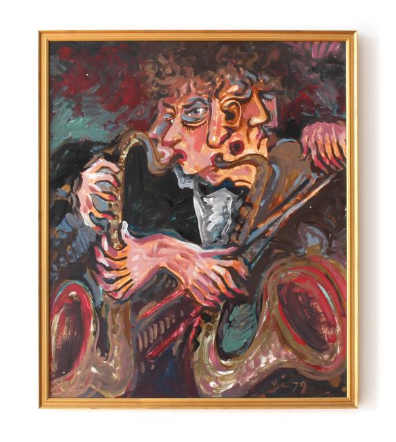, 'Saxaphonist,' 1979, HARPY