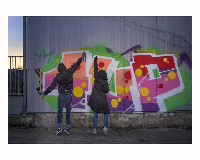 , 'Reclaim the Streets,' 2017, Urban Spree Galerie