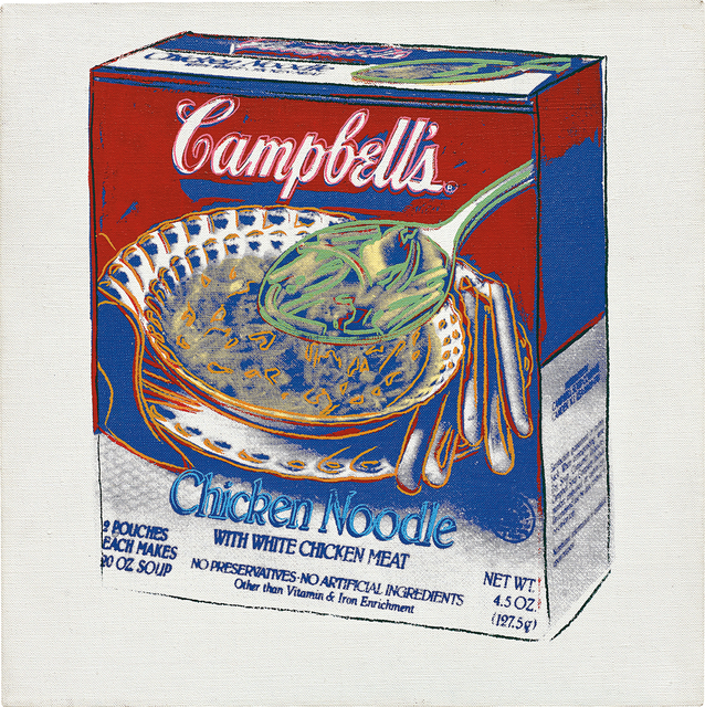 Andy Warhol, 'Campbell's Chicken Noodle Soup Box', 1986, Phillips