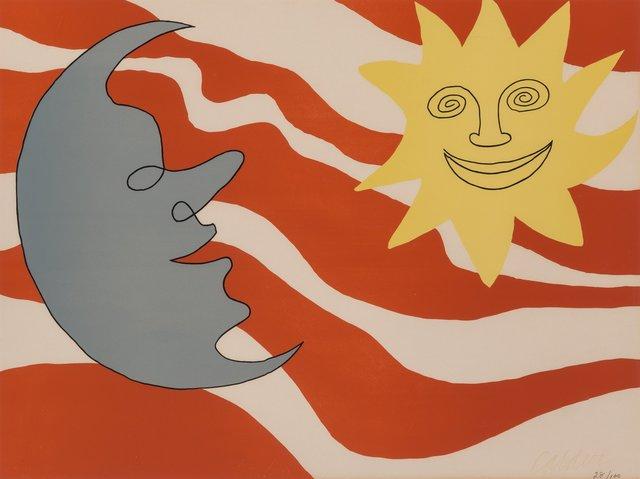 Alexander Calder, 'Sun Face Moon Face', c. 1965, Heritage Auctions