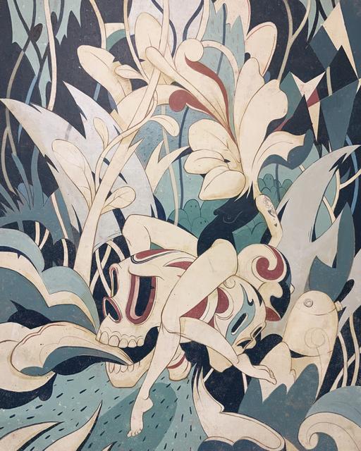 Eduardo Rubio, 'Azul II', 2019, Galeria Oscar Roman