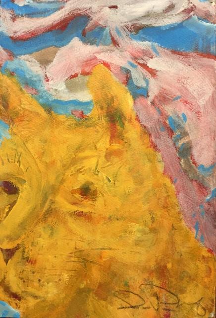 , 'Buster,' 2019, LeMieux Galleries