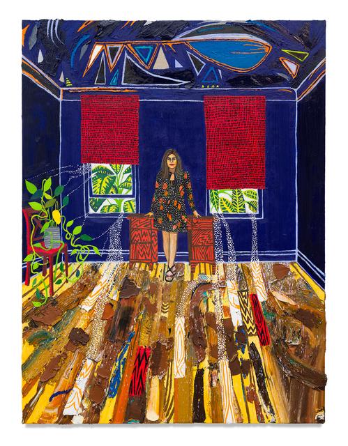 Raffi Kalenderian, 'Christine Minas', 2021, Painting, Oil on canvas, Miles McEnery Gallery