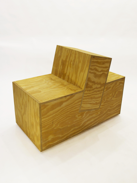 , 'Box Chair Square,' 2010, Patrick Parrish Gallery