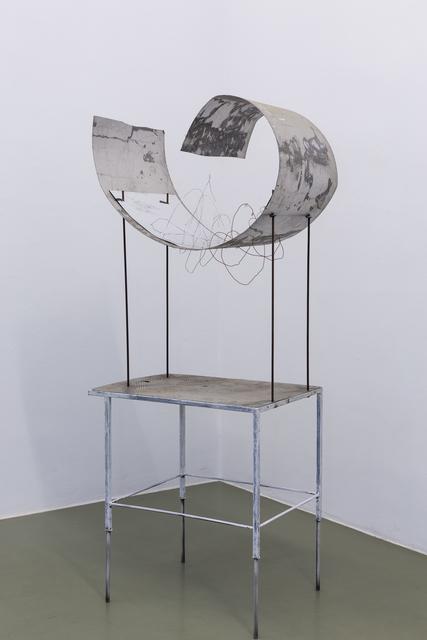 , 'Primräume / verdrahtete und gespiegelte Strukturen,' 2017, Galerie Crone