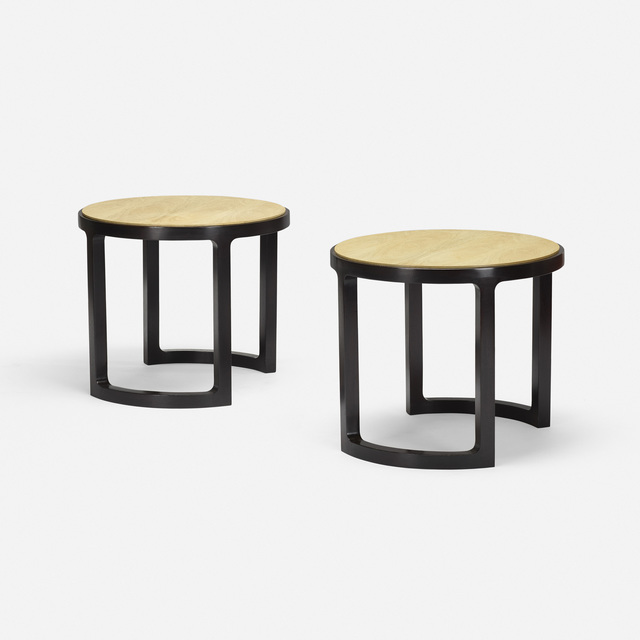 Edward Wormley, 'occasional tables, pair', c. 1967, Wright
