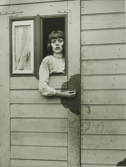 , 'Girl in Fairground Caravan,' 1927-1932, Galerie Julian Sander