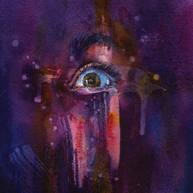 Joanna Barnum, 'Piercing the Veil - Purple', 2018, Abend Gallery