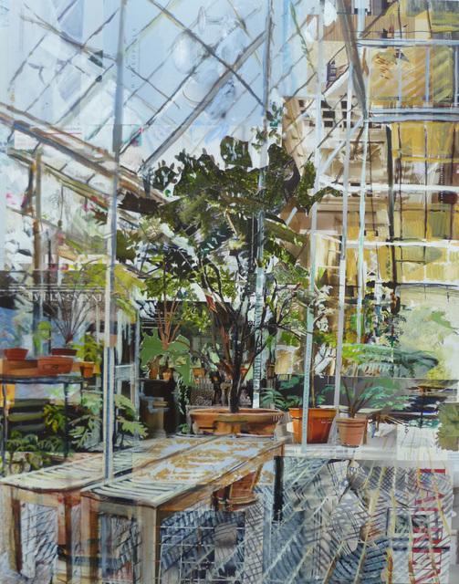 , 'Botanic Gardens, Oxford, Glasshouse I,' 2017, Sarah Wiseman Gallery