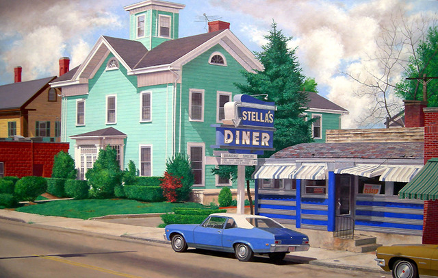 , 'Stella's Diner,' 2008, Jonathan Novak Contemporary Art