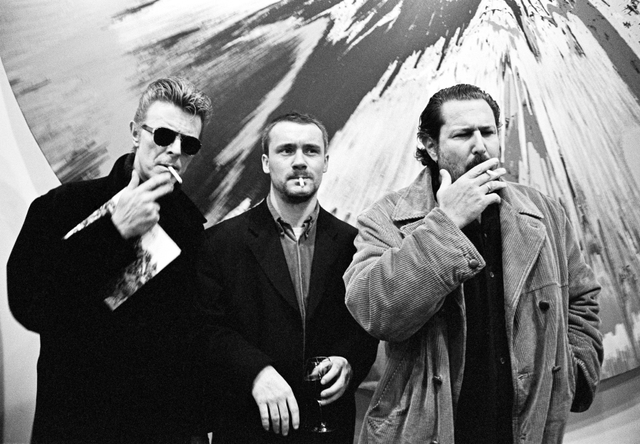 , 'David Bowie, Damien Hirst and Julian Schnabel, New York, ,' 1996, Steven Kasher Gallery