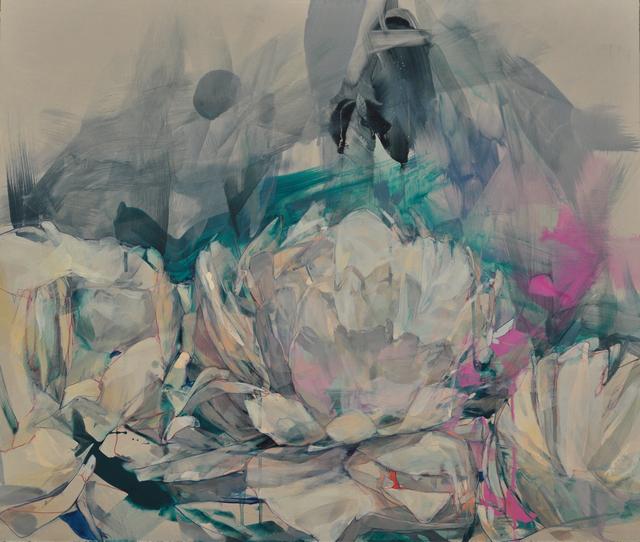 , 'Three White Peonies ,' 2016, David Lusk Gallery