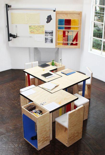 , 'La mesa sin fin (Goeritz-Kiesler),' 2014, Galería OMR