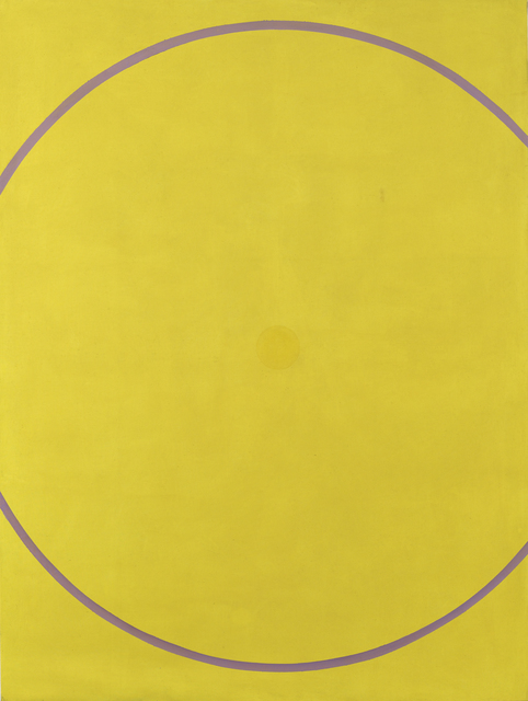 , 'Untitled (Yellow Violet Arc),' 1962, Offer Waterman