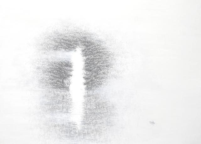 , 'The barrier without door,' 2014, Galerie Dumonteil