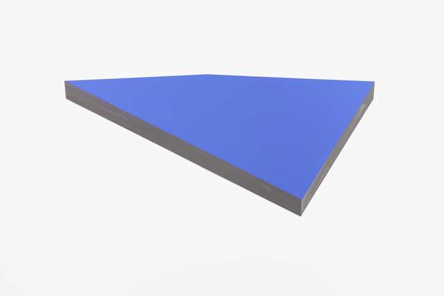 , 'O.T. (ultramarinblue light),' 2012, Galerie Denise René