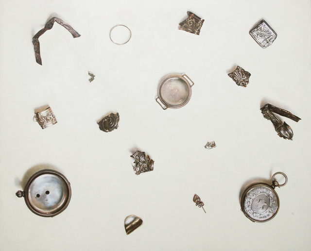 , 'Scrap Silver, 82 grams,' 2014, Purdy Hicks Gallery