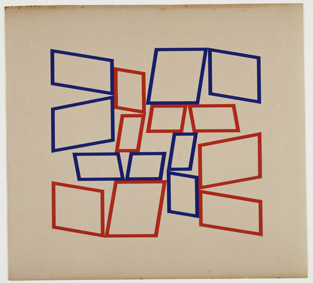 , 'Metaesquema 4066,' 1958, Whitney Museum of American Art