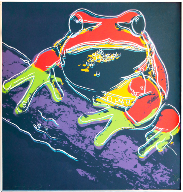 Andy Warhol, 'Pine Barrens Tree Frog', Print, 1983, David Benrimon Fine Art
